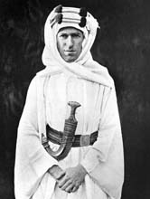 Thomas Edward Lawrence alias Lawrence d'Arabie